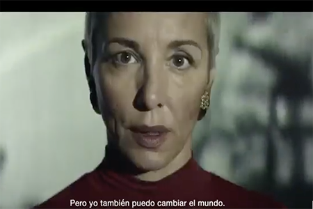 Nuestra actriz Pape en la nueva campaña de Hola Luz